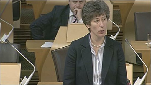 Tory MSP Liz Smith leads a member's debate.