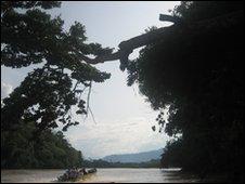 Huayamba river