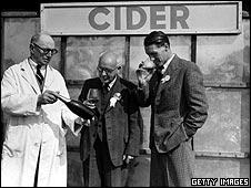 Cider drinking