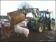 Farmer in Hay-On-Wye