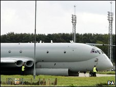 Nimrod at RAF Kinloss