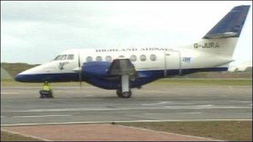 Highland Airways plane