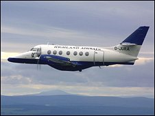 Jetstream 31. Pic: Highland Airways