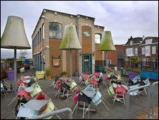 File picture of coffee shop Checkpoint in Terneuzen, Netherlands