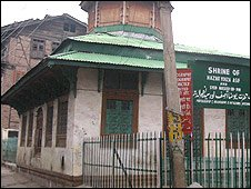 Rozabal shrine, Srinagar