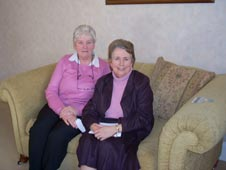 Sue Hinks and Carol Thompson