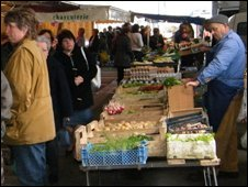 Market at Le Blanc