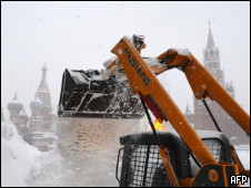 Moscow in winter (AFP)