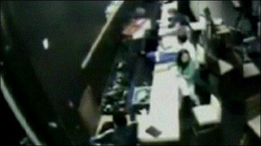 Valdiva hotel security camera footage of Chile earthquake