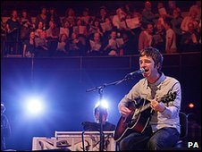 Noel Gallagher and the Crouch End Choir