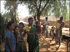 Tribal villagers in Jharkhand