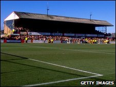 Cheltenham Town's Whaddon Road ground
