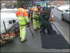 Pohole repairs