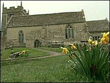 The real St Bartholomew's church