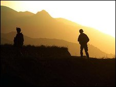 Isaf troops in Afghanistan