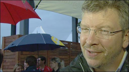 Mercedes team boss Ross Brawn