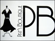Pat's Boutique logo