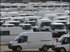Ford Transit vans
