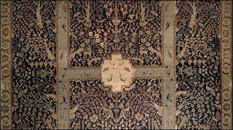 Details from Wagner Garden Carpet, photo courtesy of Reza Cheshmehdoost