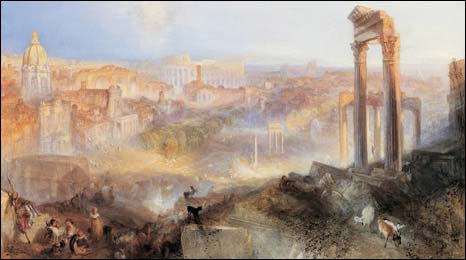 Modern Rome - Campo Vaccino by JMW Turner