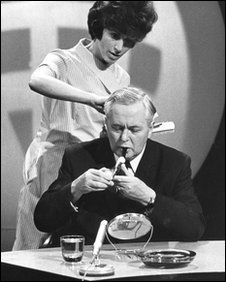 Harold Wilson being groomed for Panorama
