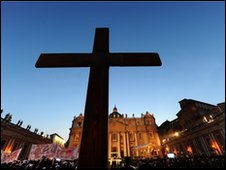 Cross in St Peter's Square