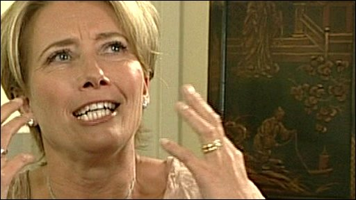 Emma Thompson on The Andrew Marr Show