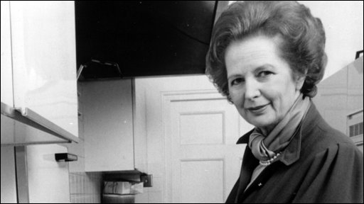 Margaret Thatcher in 1987