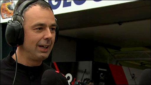 Virgin Racing technical director Nick Wirth