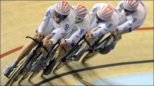 British riders in team pursuit