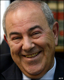 Iyad Allawi (file)