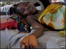 Hospital in Freetown, September 2009