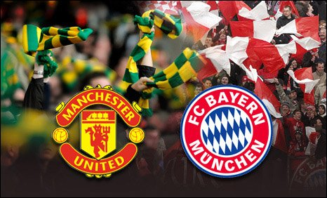 Bayern v Man Utd graphic