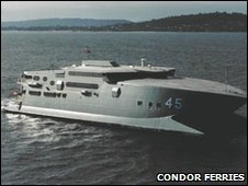 The Condor Rapide as HMAS Jervis Bay