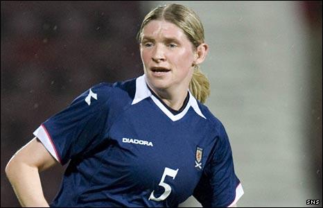 Scotland midfielder Leanne Ross