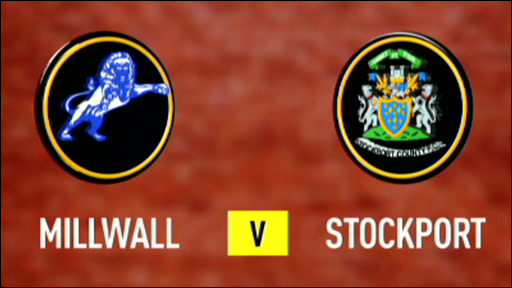 Millwall 5-0 Stockport