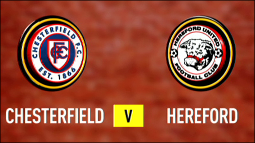 Chesterfield 1-2 Hereford