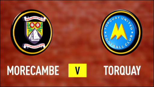 Morecambe 2-0 Torquay