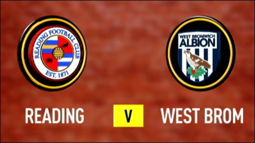 Reading 1-1 West Brom