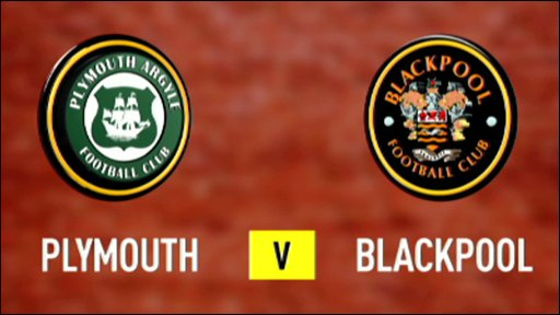 Plymouth 0-2 Blackpool