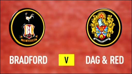 Bradford 3-3 Dag & Red