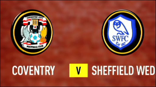 Coventry 1-1 Sheff Wed