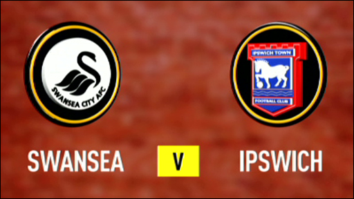 Swansea 0-0 Ipswich