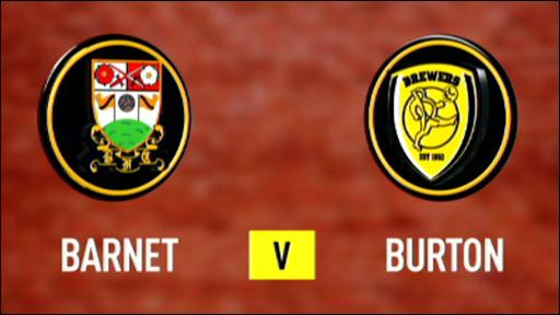 Barnet 1-1 Burton