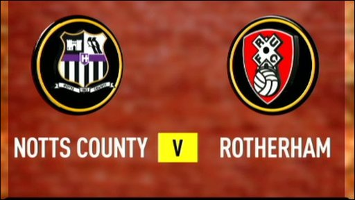 Notts County 1-0 Rotherham