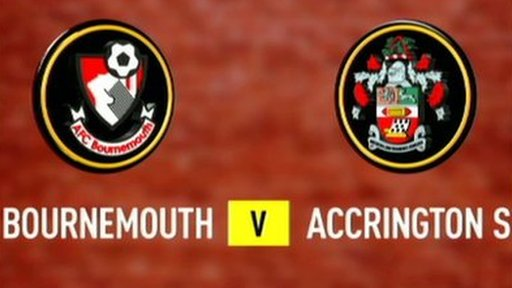 Bournemouth 2-0 Accrington Stanley