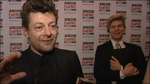 Andy Serkis at the Empire awards