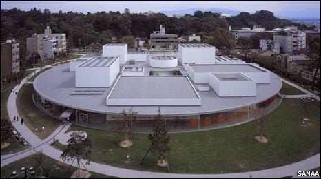 The 21st Century Museum of Contemporary Art Kanazawa, Ishikawa, Japan (image: Sanaa)