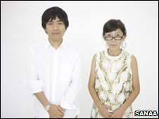 Ryue Nishizawa (left) and Kazuyo Sejima