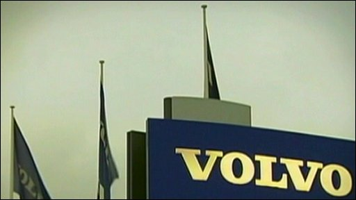 Volvo sign